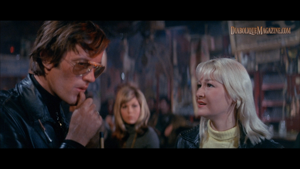 Peter Fonda and Diane Ladd in The Wild Angels (1966) [Click to enlarge]