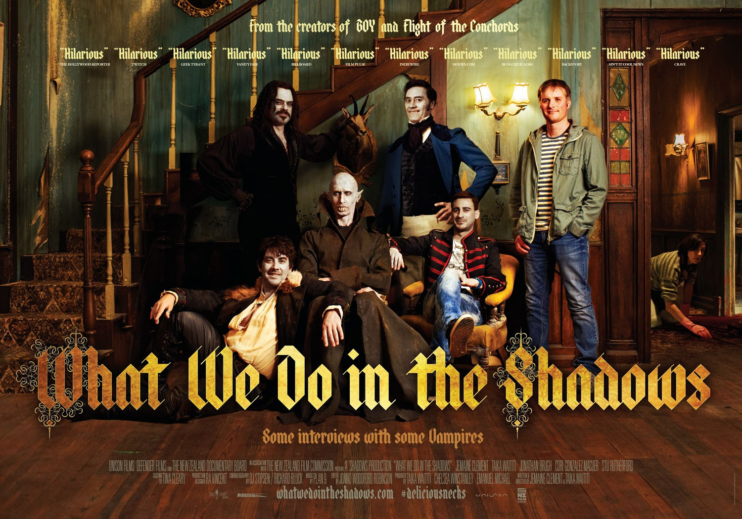What We Do In The Shadows Destined to Become One of the Great Horror-Comedies