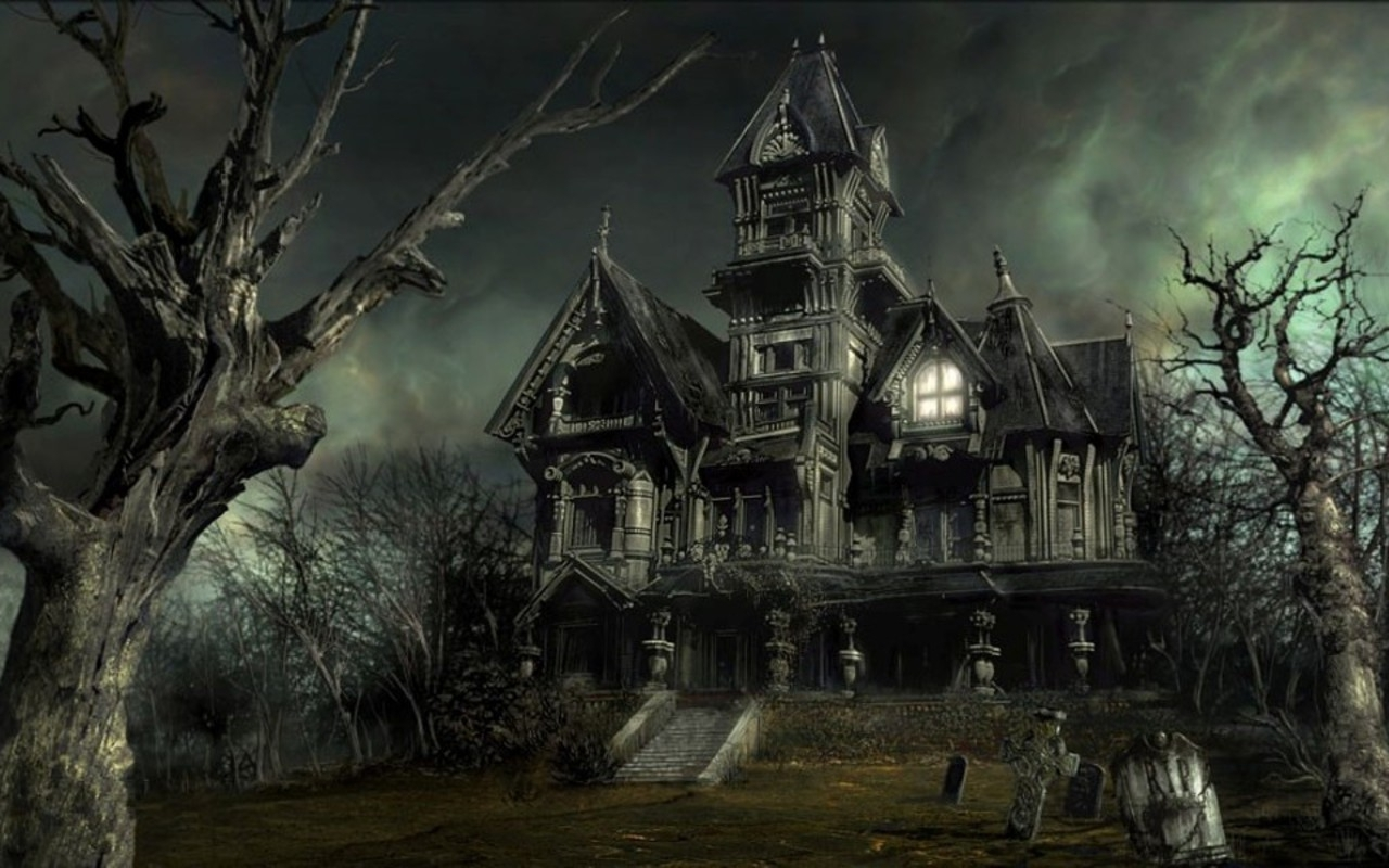 The Haunted Houses Are Neither Haunted Nor Houses