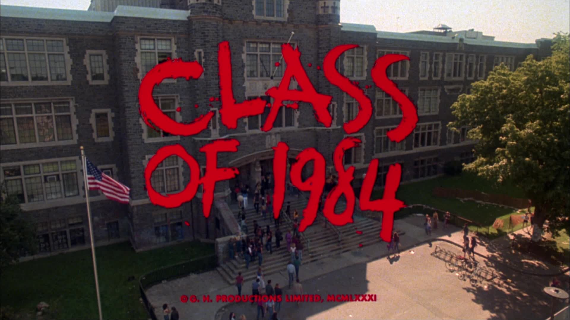 Class of 1984 (Collector's Edition) (US Blu-ray review)