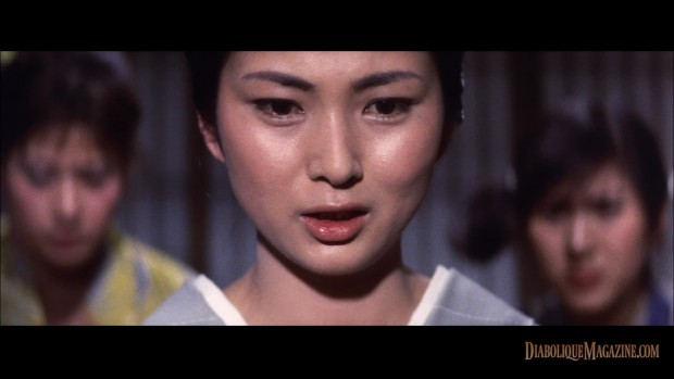 Teruo Ishii's Blind Woman's Curse (1970) [click to enlarge]