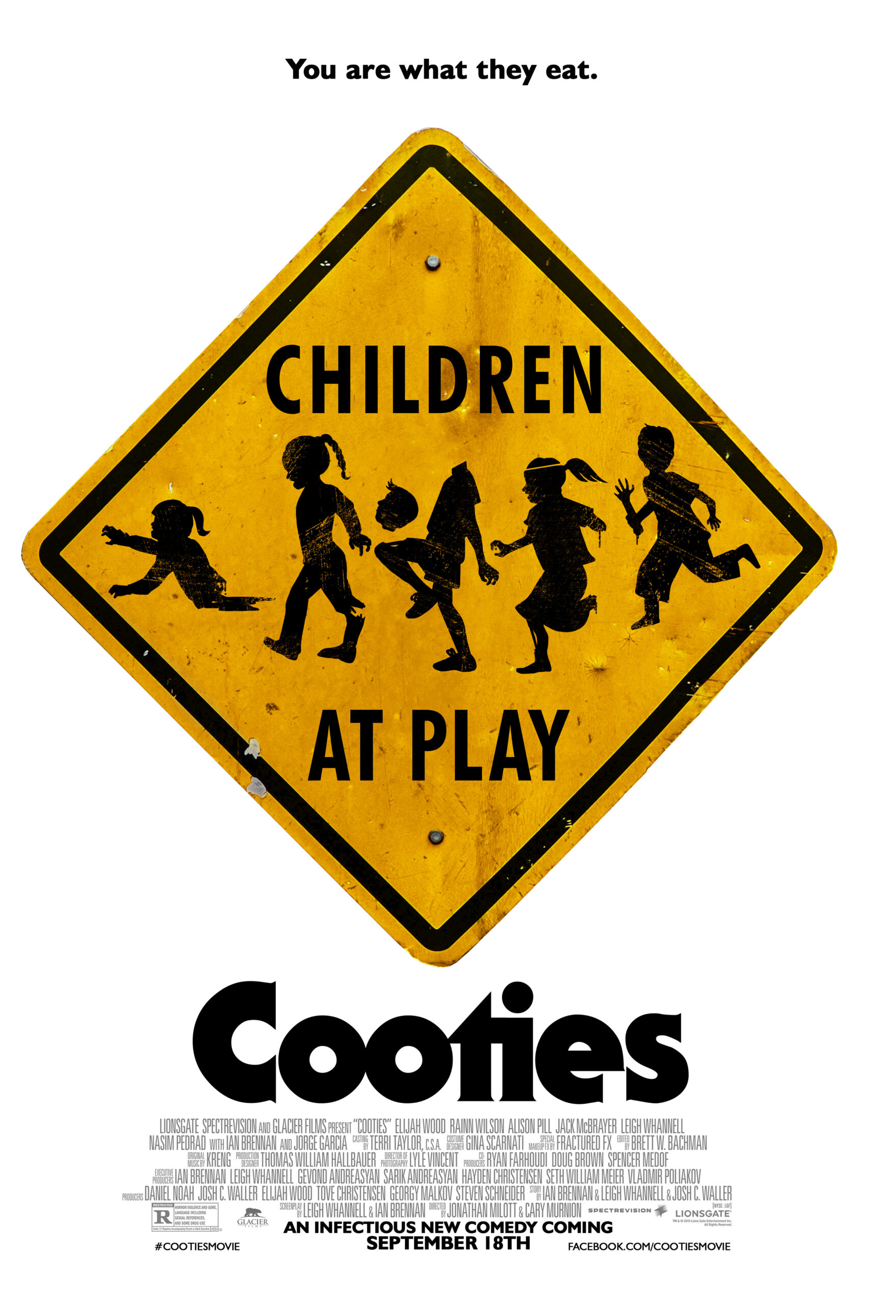 Get Infected With This New Poster From 'Cooties'