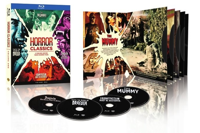 Hammer Horror Classics on Blu-Ray