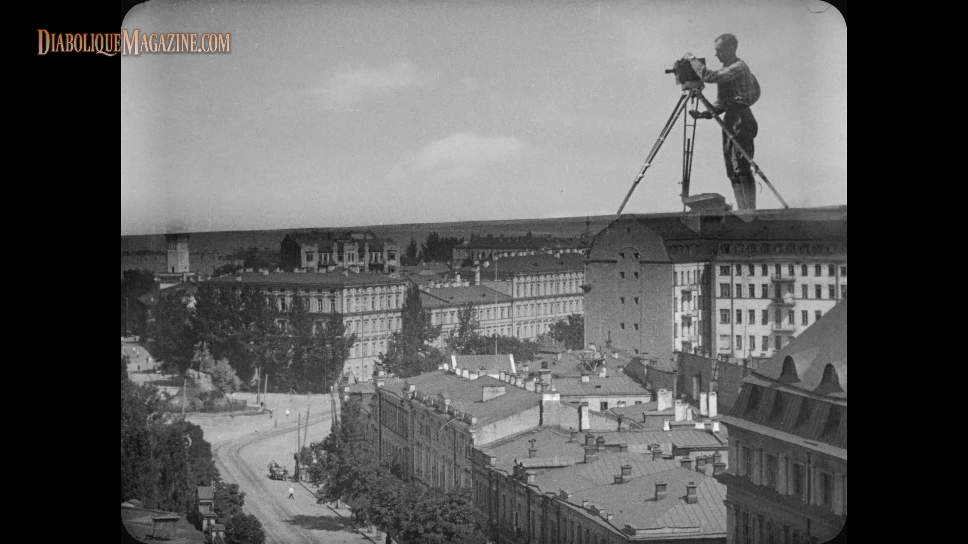 man with the movie camera and Man with a movie camera (aka the man with the movie camera) (человек с киноа&.