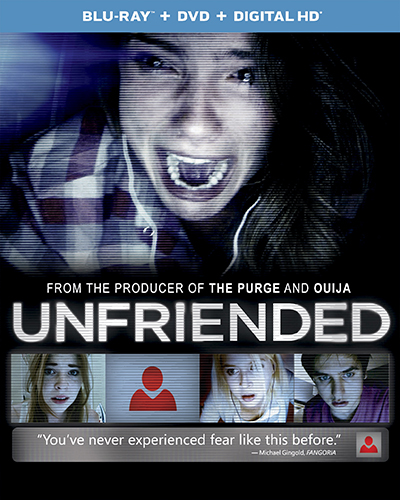 Universal Reveals Blu-ray Details for 'Unfriended'