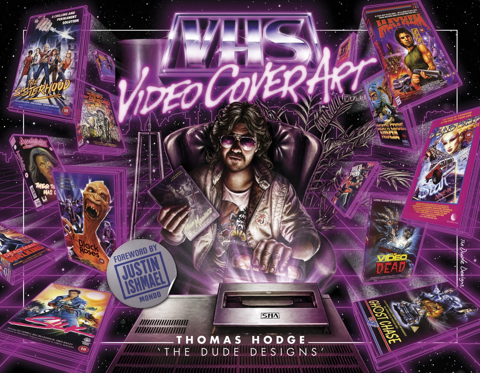 VHS Cover Art: 1980s to Early 1990s (Book review)