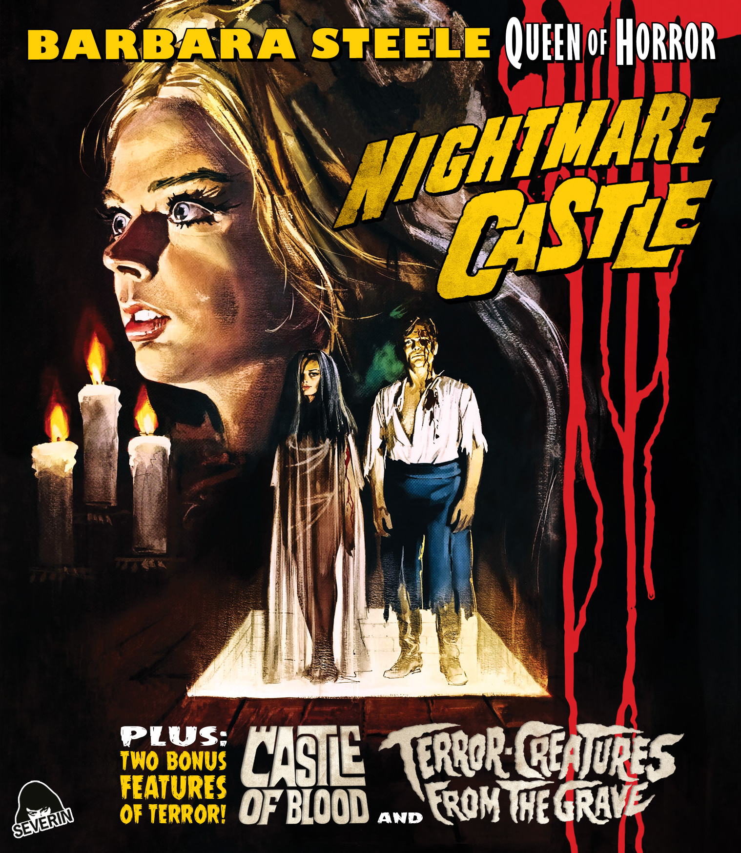 Severin Films Announces 'Nightmare Castle' And More On Blu-ray