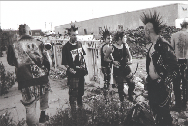 Squatter Punks in Decline of the Western Civilization: Part III