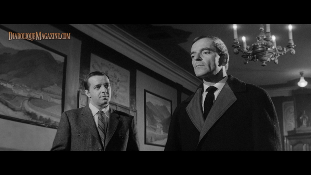 Howard Vernon and Georges Rollin in Jess Franco's The Sadistic Baron Von Klaus (1962) [Click to enlarge]