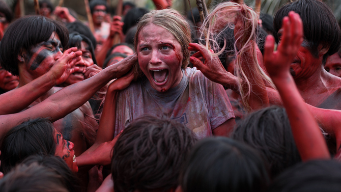 The 'First Encounter' Does Not Go Well In This New Clip From 'The Green Inferno'