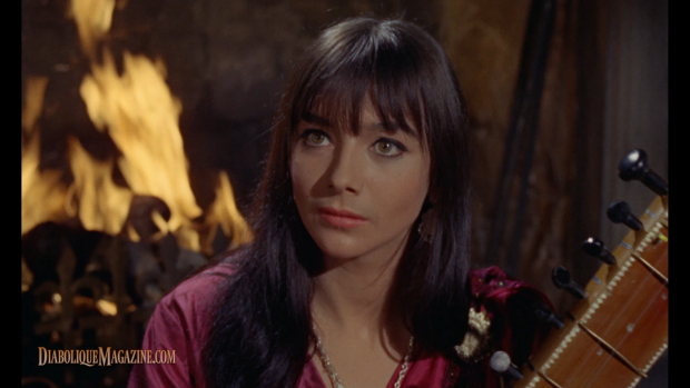 Jacqueline Pearce in Hammer's The Reptile (1966) [Click to enlarge]