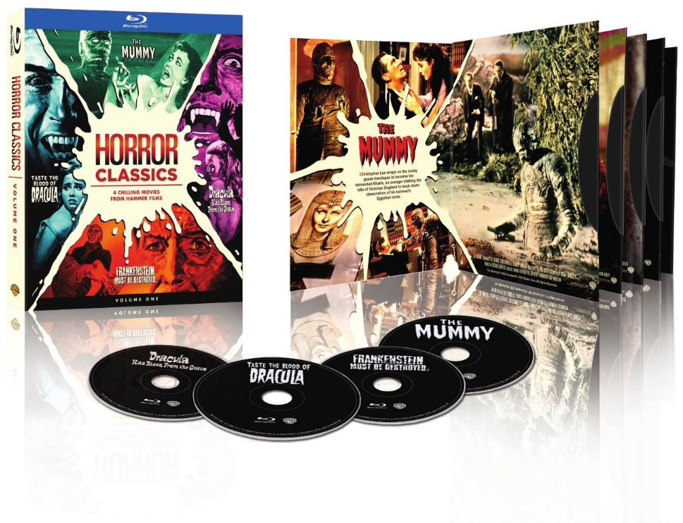 WINNERS ANNOUNCED for our Horror Classics Blu-Ray Giveaway