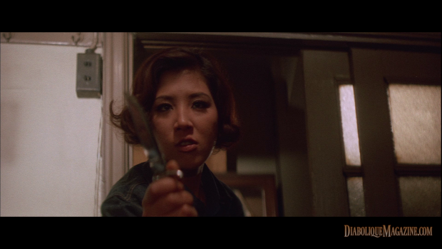 Yasuharu Hasebe's Stray Cat Rock: Delinquent Girl Boss (1970) [click to enlarge]