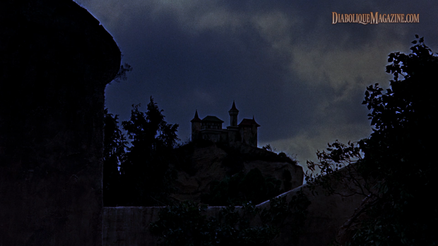 The Brides of Dracula (1960) ANOLIS Blu-ray screencap in 1,78:1 aspect ratio. [Click to enlarge]