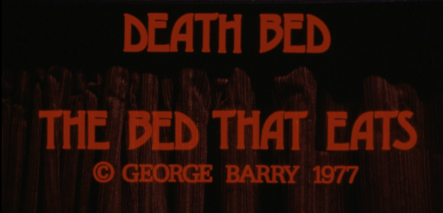 Death Bed: The Bed that Eats (US Blu-ray review)