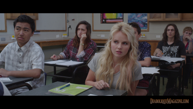 Kimberley Crossman in  Jason Lei Howden's Deathgasm (2015) [Click to enlarge]