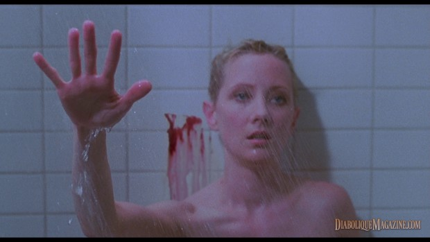 Anne Heche in Gus Van Sant's Psycho (1998) [click to enlarge]
