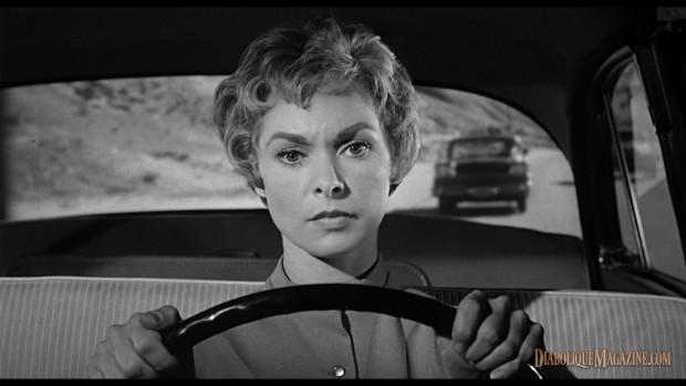 Janet Leigh in Alfred Hitchcock's Psycho (1960) [click to enlarge]