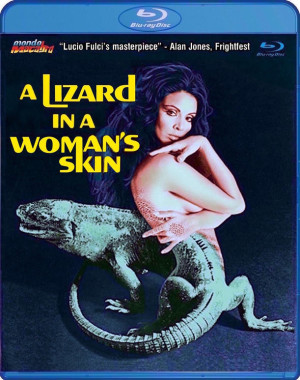 a lizard in a womans skin