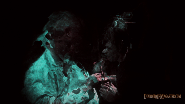 Image deterioration in Guy Maddin and Evan Johnson's The Forbidden Room (2015) [click to enlarge]