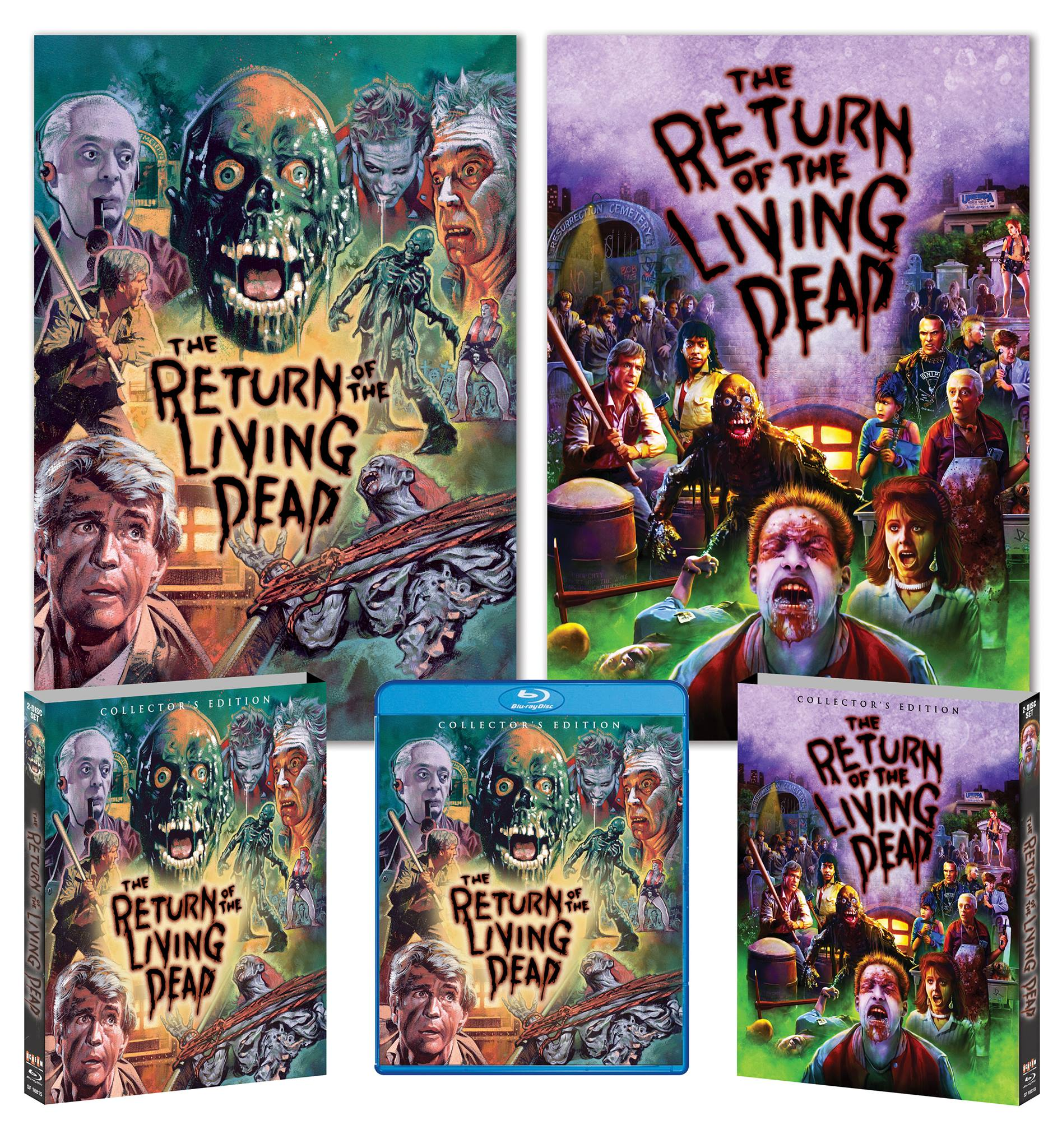 Scream Factory Rolls Out The Details For Their Two Disc Collectors Edition of The Return Of The Living Dead