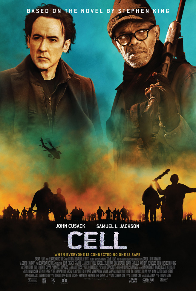 A Trailer And Poster Phones In For 'CELL'