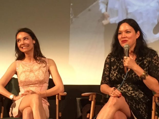 "During the panel discussion for the  ""Etheria Film Night"" special screening of ""The Love Witch"" with filmmaker Anna Biller and lead actress Samantha Robinson hosted by journalist Alyse Wax"