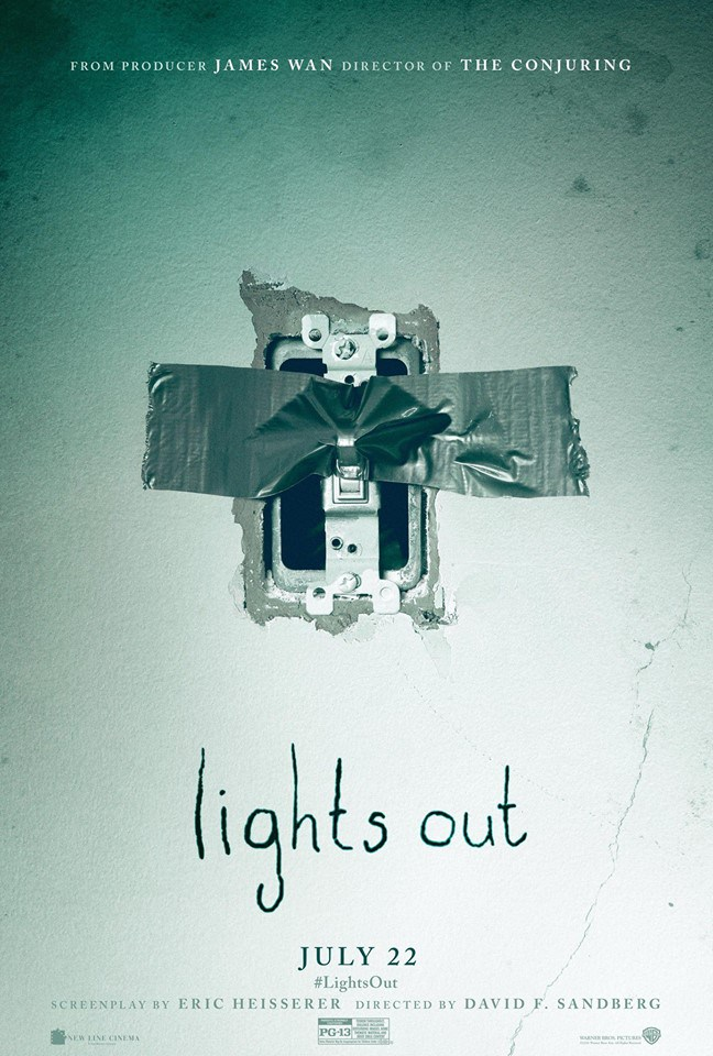 Pray The Power Doesn't Go Out While You're Watching The Trailer For LIGHTS OUT