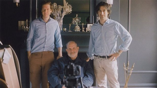 De Palma with Co-directors Noah Baumbach and Jake Paltrow