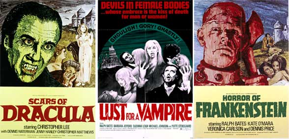 Wanted on Blu-Ray… StudioCanal's EMI-HAMMER Titles!