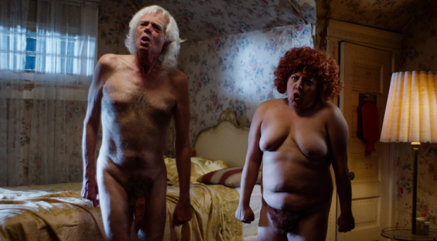 Michael St Michaels and Elizabeth De Razzo in The Greasy Strangler (2016)