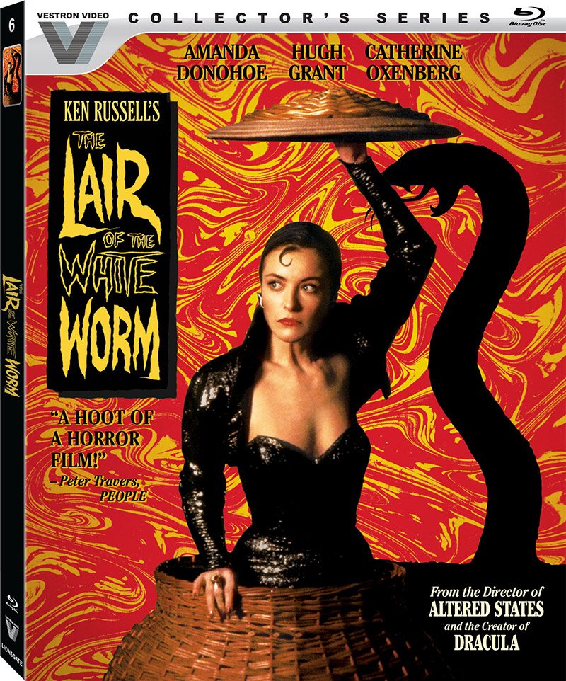Ken Russell's The Lair of the White Worm (1987) Blu-Ray announced by Lionsgate