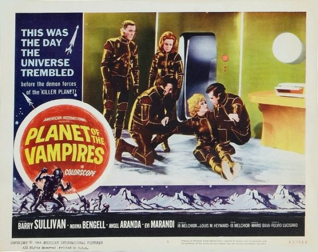 Conjuring Sublime Shadows: Mario Bava's Planet of the Vampires