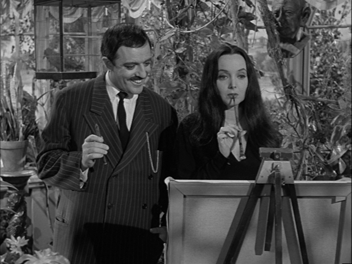 The Addams Family Meets A Beatnik