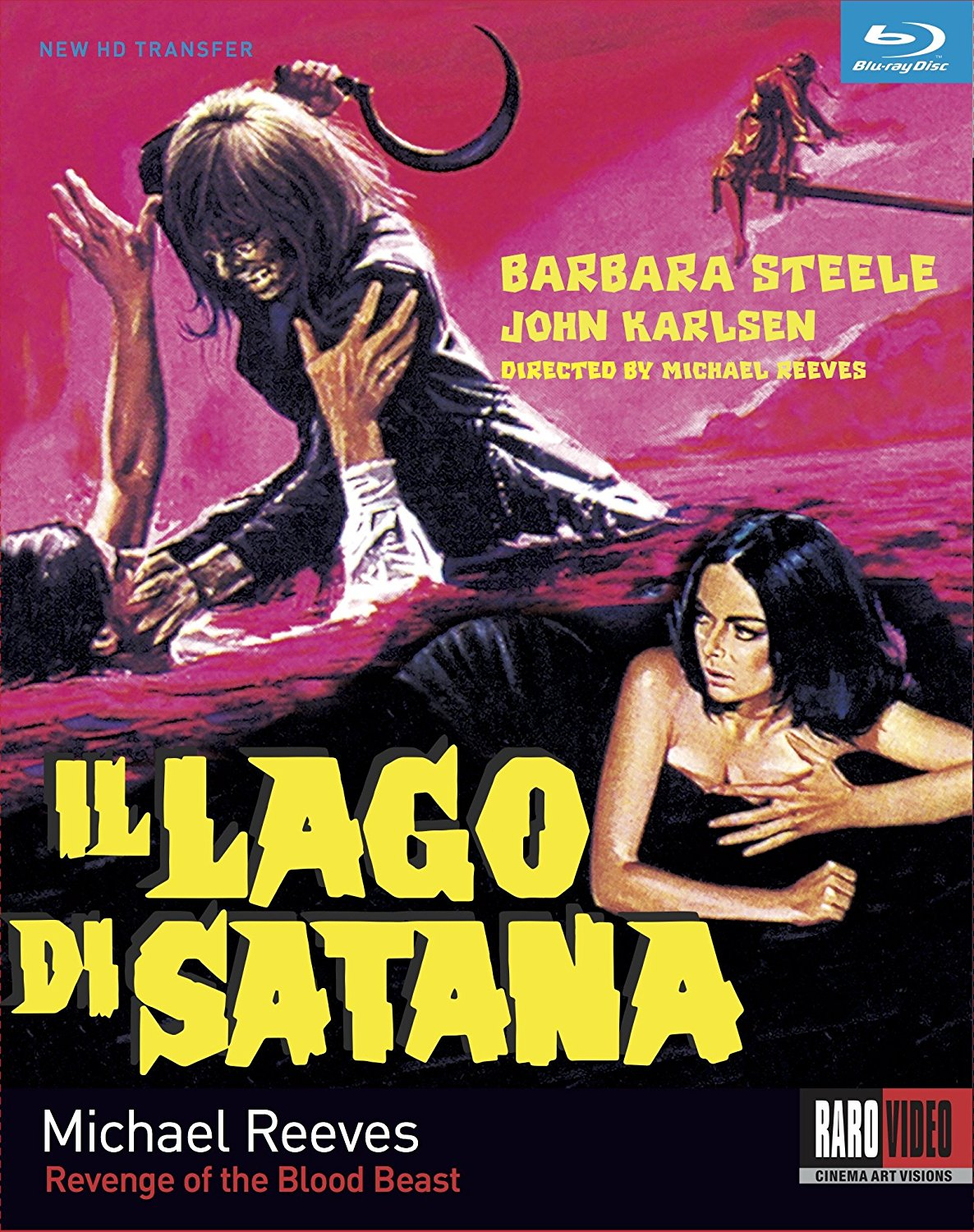 Revenge of the Blood Beast (1966) Blu-Ray announced by Raro Video and Kino Lorber