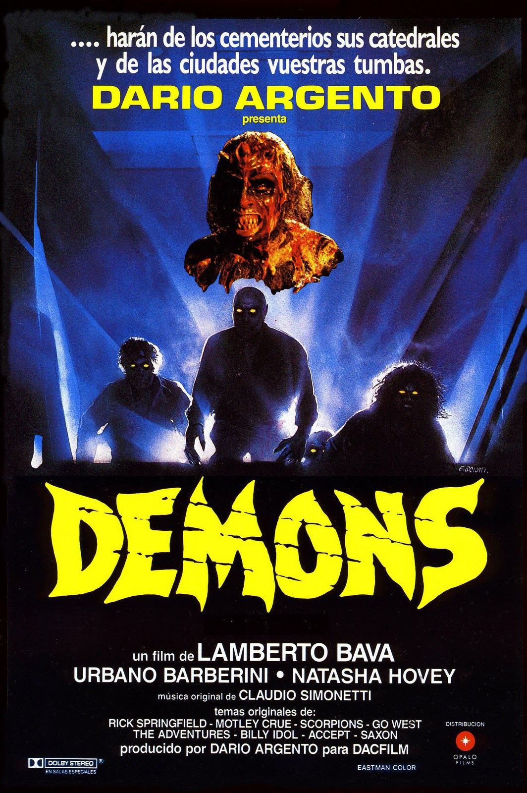 Hell, On Earth: Gore, Glam Metal and Satanic Satire in Lamberto Bava's Demons (1985)
