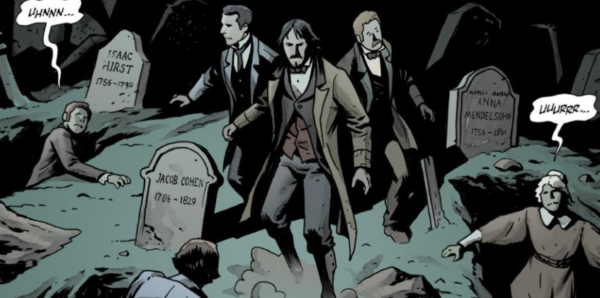 Witchfinder: City of the Living Dead Volume 4 is a Marvellous Mash-Up of Victorian Gothic and Steampunk