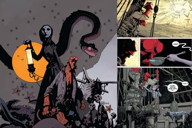 Hellboy: Into the Silent Sea is the Modern Day Equivalent of a Campfire Tale