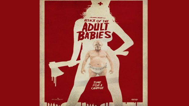attack of the adult babies dvd