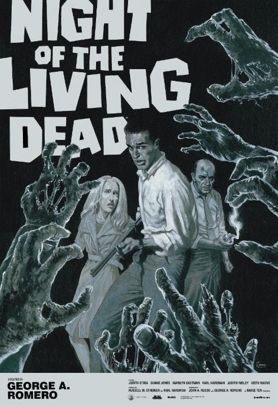George A. Romero's NIGHT OF THE LIVING DEAD Opening Friday, October 13, 2017!