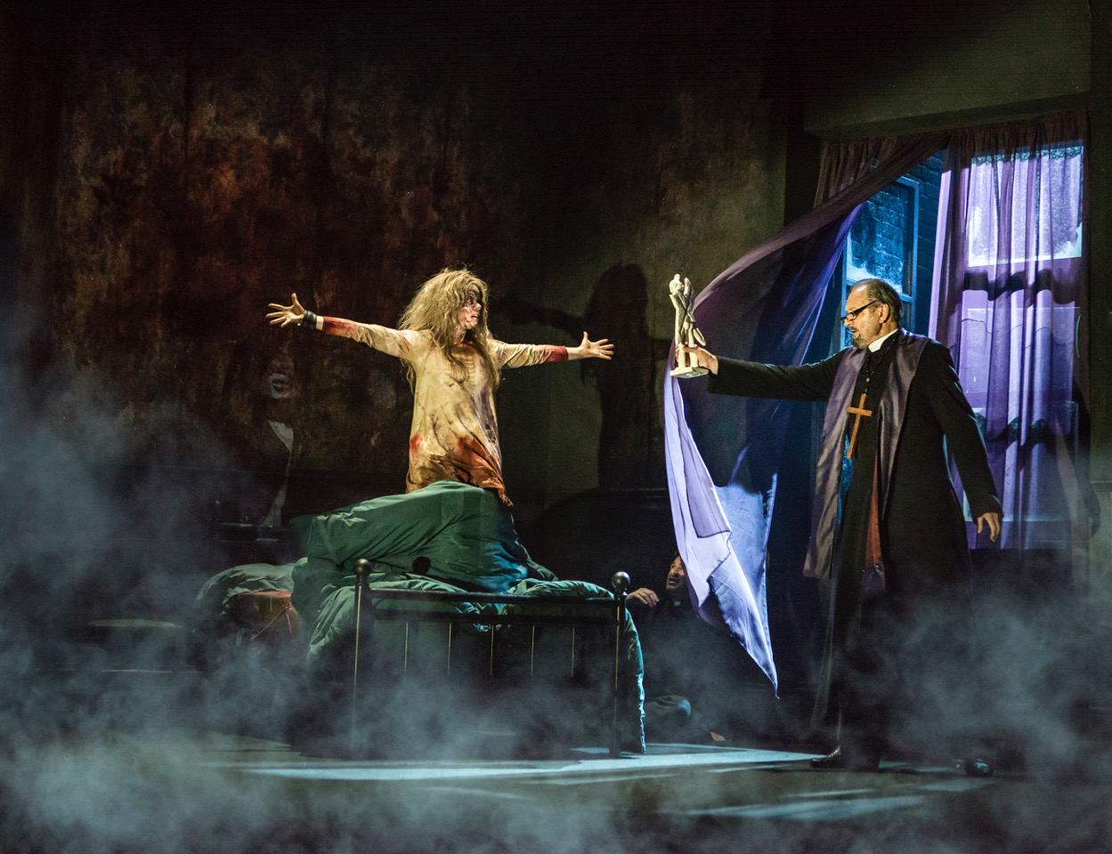 """That thing upstairs isn't my daughter!"": The Exorcist Live (theatre review)"