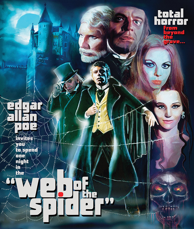 Garagehouse Pictures to release Antonio Margheriti's Web of the Spider (1971) on Blue-ray