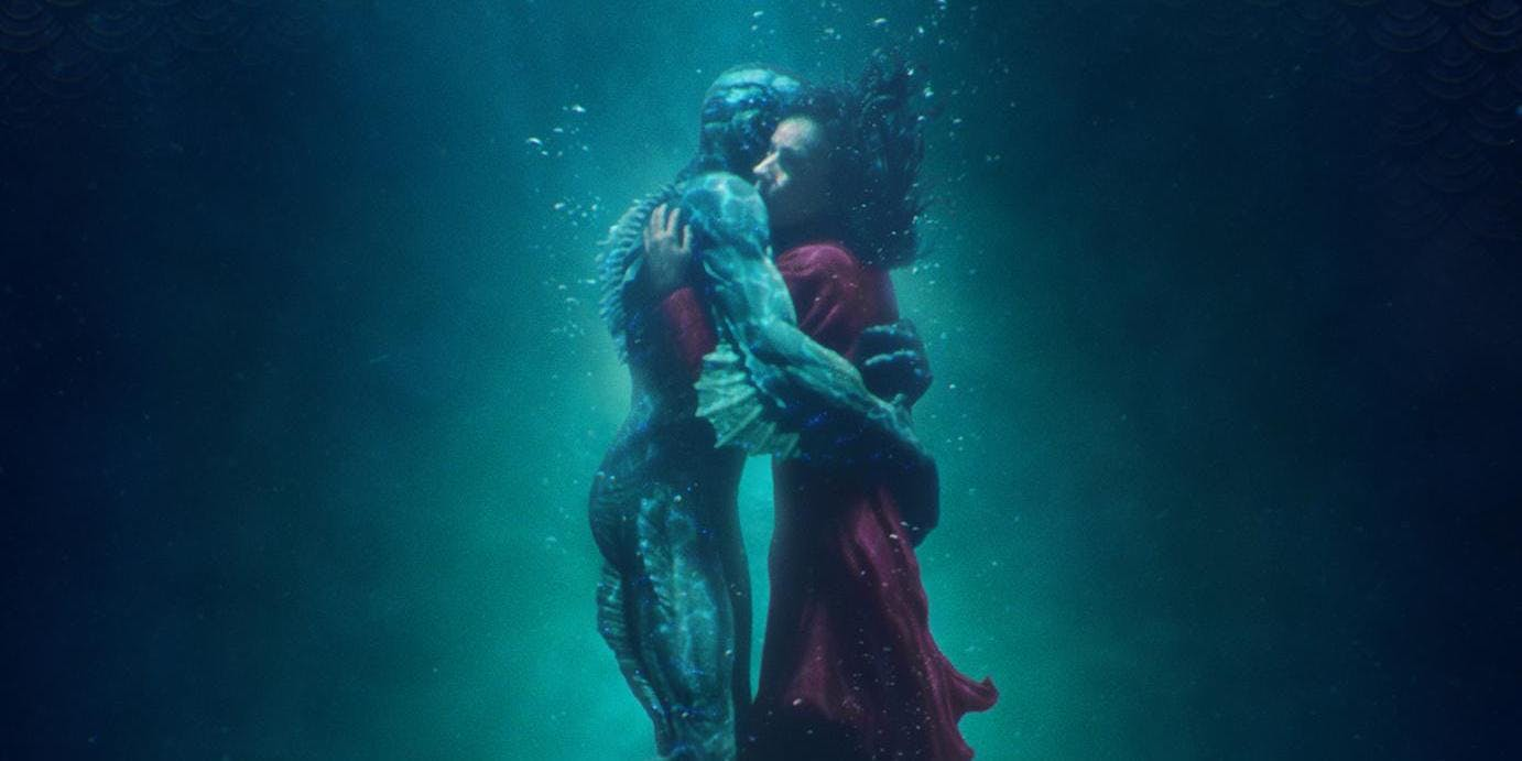 I Find You All Around Me: The Shape of Water (2017)