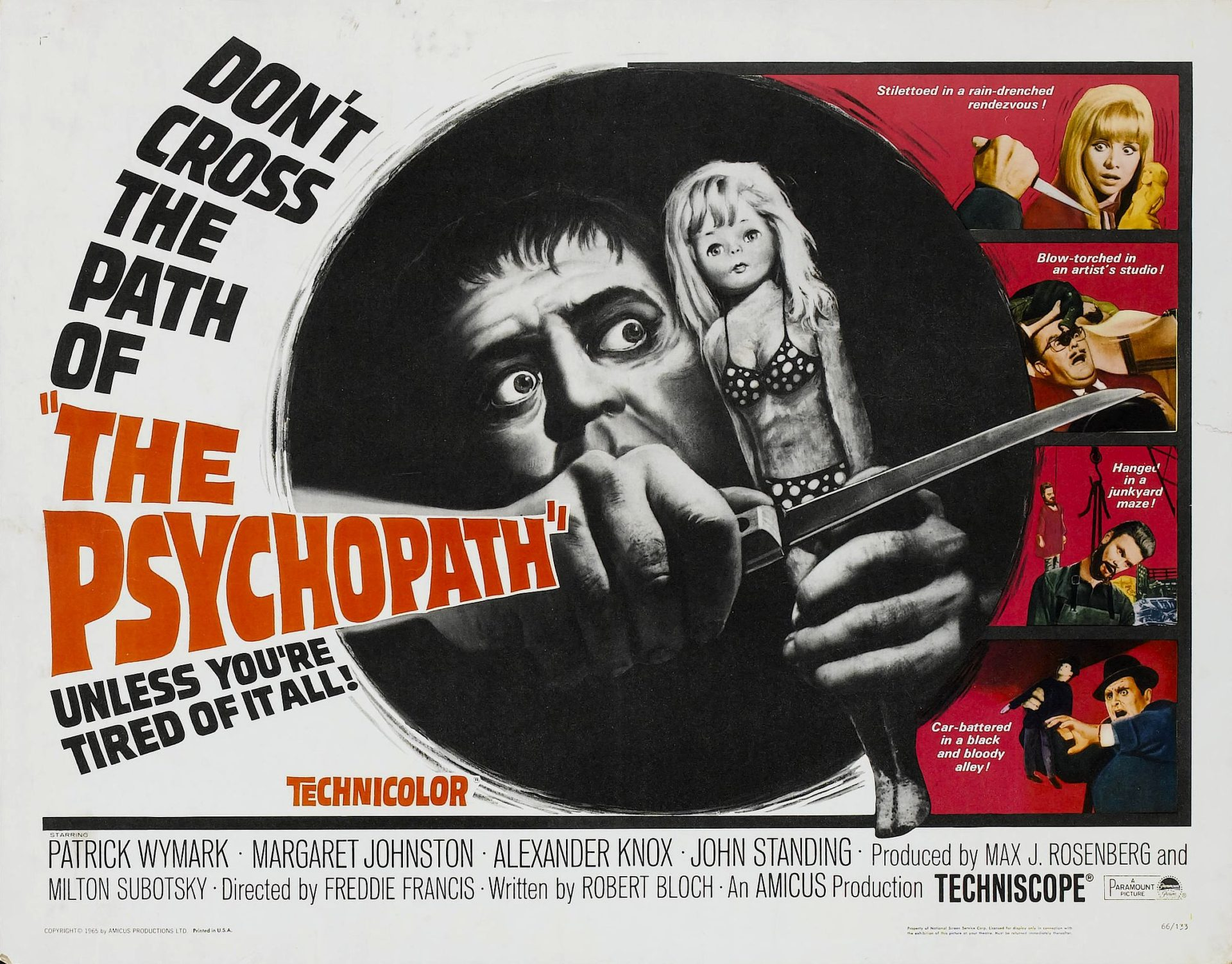'The Psychopath' (1966) Makes Its Way to Kino Lorber (Blu-ray Review)