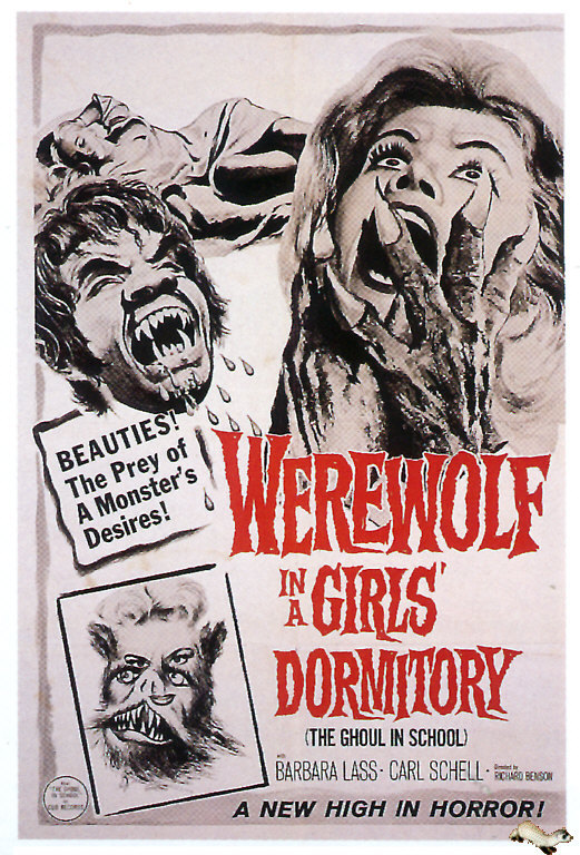 Big Bad Wolves: Sexual Violence and Werewolf in a Girls' Dormitory (1961)