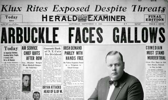 Arbuckle Faces Gallows