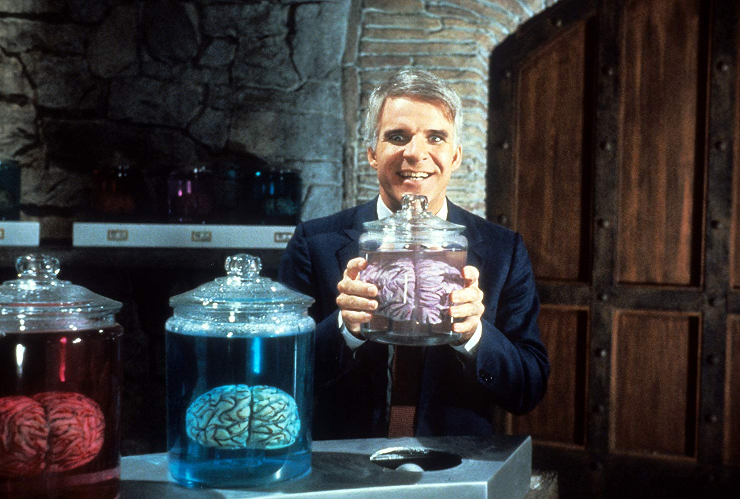 Steve Martin Dances Between Hilarity and Tragedy: The Man with Two Brains (1983)
