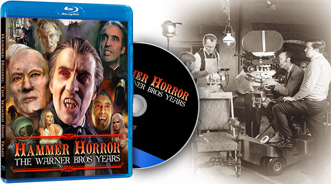 Stock is dwindling on Hammer Horror: The Warner Bros. Years Blu-Ray!