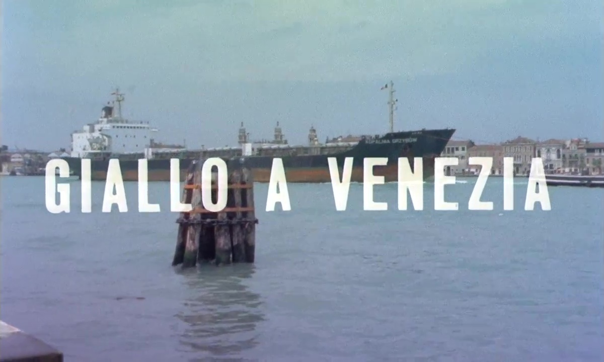 31 Days of Gialloween: Giallo a Venezia (1979)