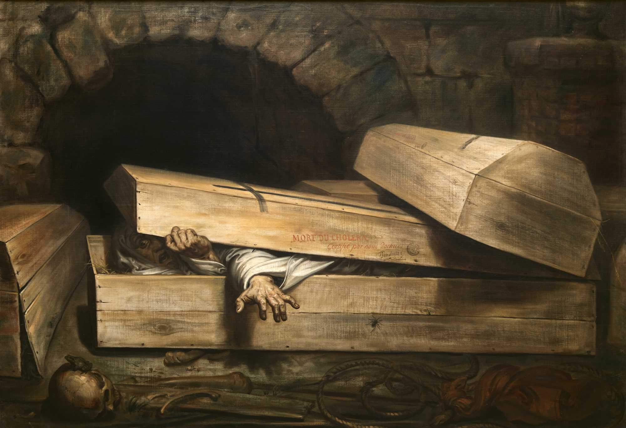 Fear Before Fiction: Premature Burial